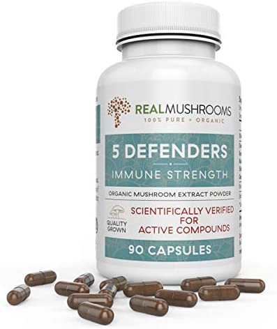 Defenders Organic Mushroom Real Mushrooms product image