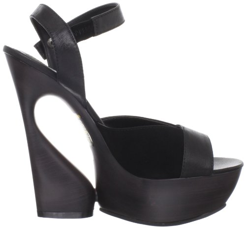 Pleaser Day & Night - Sandalias mujer negro - Blk Kid Leather-Suede
