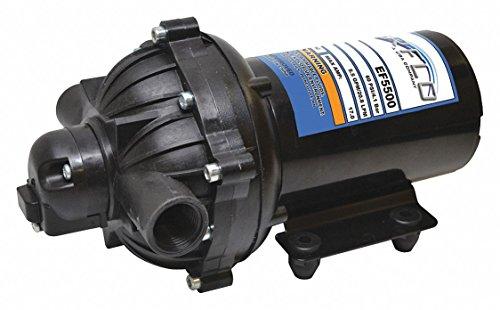 Everflo Diaphragm Pump EF3000 - 3.0 GPM @ 60 PSI , 1/2'' FNPT Ports, 12V DC by Everflo