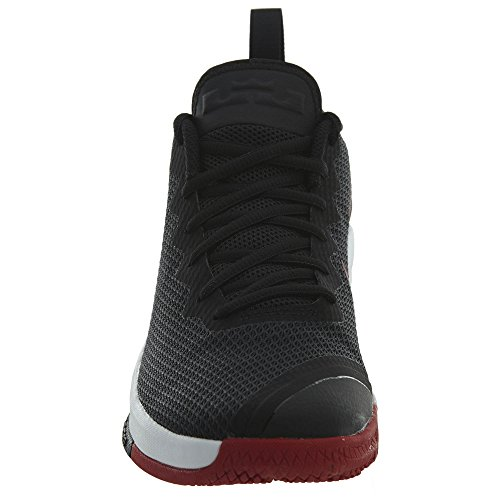 Black NIKE Mens Lebron Red white Witness Black Shoes II Basketball gym O0rOqU