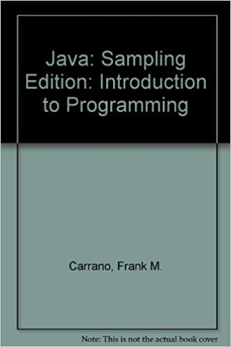 Java introduction to problem solving and programming 5th sampling java introduction to problem solving and programming 5th sampling edition walter savitch 9780136018216 amazon books fandeluxe Choice Image