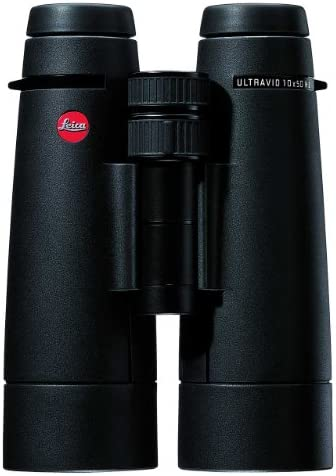 Leica 10 x 50 Ultravid HD Binocular, Black Armored – 40296