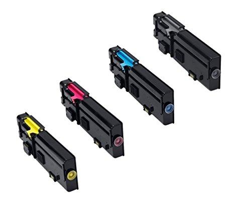 Dell C2660dn High Yield Color Toner Cartridge Set Black ()