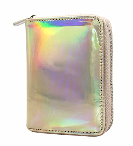 Small Purse Waterproof Clutch Holographic Gloden Womens Aimeio Holder Card Bag Wallet Wallet IcqEF8wwx0