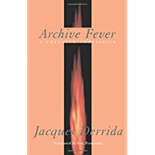 Archive Fever: A Freudian Impression
