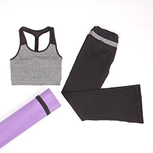 Intimuse 11851, Camisa de Deporte Para Mujer Gris (Grau Melange 026)