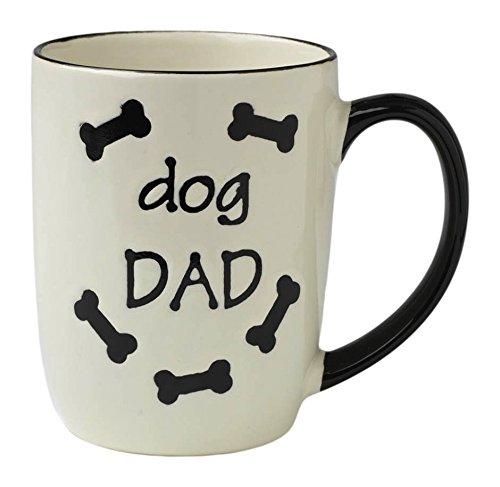 PetRageous Dog Dad Mug, 24 oz, Natural