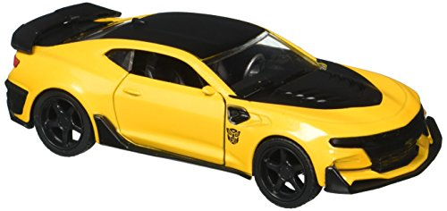 Jada 1:32 Metals Transformers Bumblebee 2016 Chevrolet Camaro Diecast Vehicle by Jada