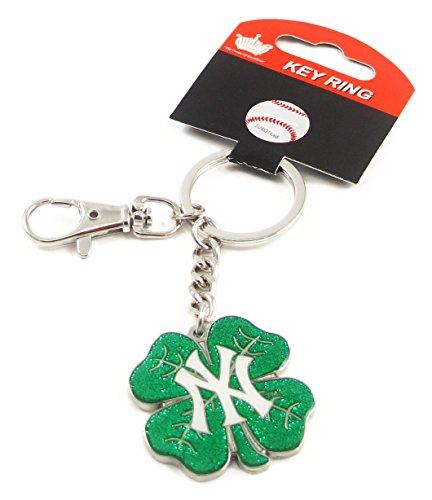 - New York Yankees - MLB Shamrock Key Tag With Clip