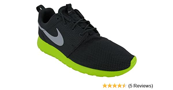 low priced f7f9e a4e0c Amazon.com  NIKE Roshe Run Mens Running Shoes 511881-003 Anthracite 8.5 M  US  Road Running