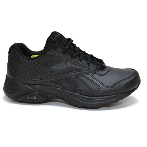 Reebok Women's Leather & Man-Made Materials Walk Ultra Iv Dmx Max Walking Shoe Black Tq78bTOVny
