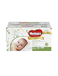 Huggies Natural Care Baby Wipes Refill, 624 Count (Packaging may vary) BOBEBE Online Baby Store From New York to Miami and Los Angeles