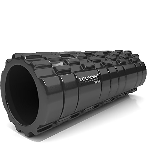 BlizeTec Foam Roller: Multipurpose Self-Balance Therapy for CrossFit, Pilates, Yoga and Physical Health; Deep Tissue Massage and Muscle Exercise Friendly