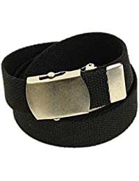 Cargo Cotton Military Web Belt Made in USA By Thomas Bates