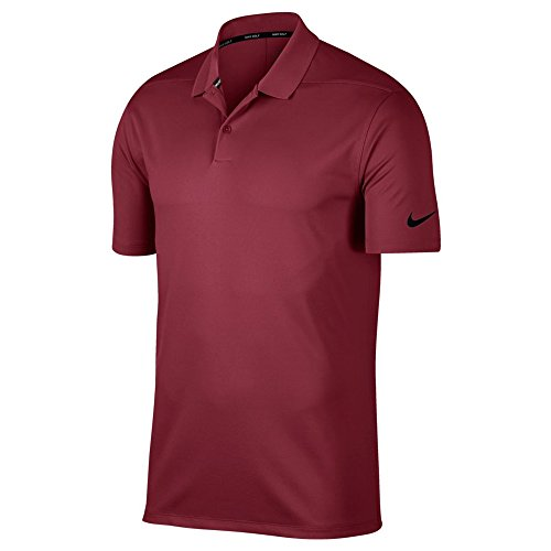 0463d1c5cee1 Nike Men's Dry Victory Solid Golf Polo (Team Maroon/Black, XX-Large