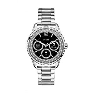 GUESS Women's Stainless Steel Android Wear Touch Screen Smart Watch(Assorted Dial)