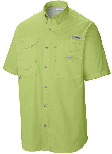 Columbia Men's Bonehead Short Sleeve Shirt, Napa Green, - Napa Outlet