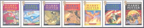 Harry Potter British Royal Mail Presentaion Pack 2007 Issue