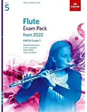 Flute Exam Pack from 2022, ABRSM Grade 5: Selected from the syllabus from 2022. Score & Part, Audio Downloads, Scales & Sight-Reading
