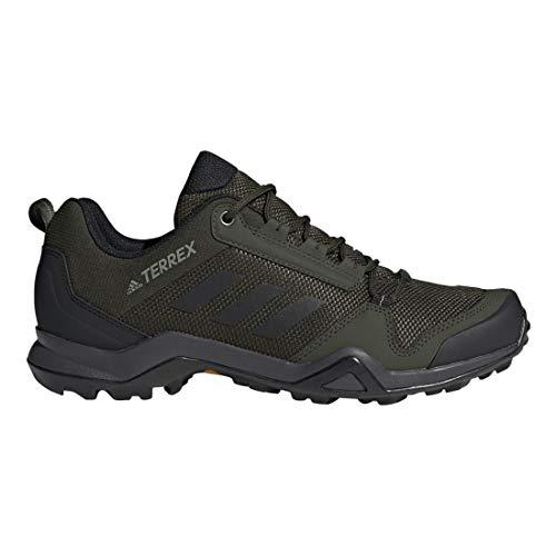 - adidas outdoor Terrex Ax3 Mens Hiking Boot Night Cargo/Black/Raw Khaki, Size 9.5