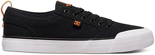 DC Mens Evan Smith TX Skate Shoe, negro y naranja, 45.5 D(M) EU/11 D(M) UK