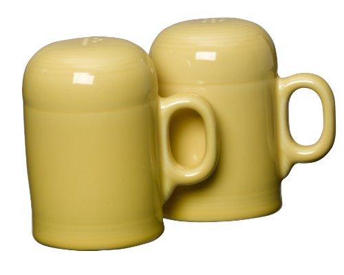 Fiesta Rangetop Salt and Pepper Set, Sunflower Yellow Salt Shaker