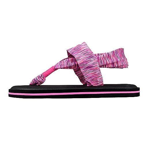 1d9f7ab54be639 hot sale 2017 Santiro Women s Lightweight Yoga Mat Thong Sandals Flip-flops