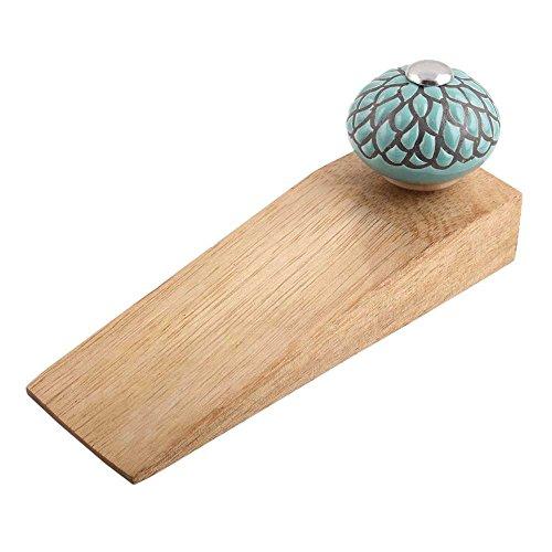 Indianshelf dorado juego de hecho a mano de madera cerámica tapón de la puerta tope de Premium trabajo sobre todo tipo de...