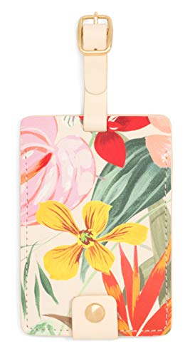 Ban.do Women's Getaway Leatherette Floral Luggage Tag with Strap, paradiso ()