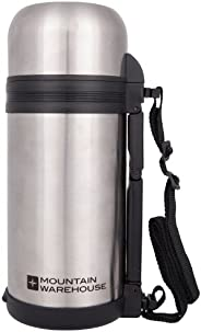 Mountain Warehouse 1.2L Food Flask - Durable Thermos Food Flask
