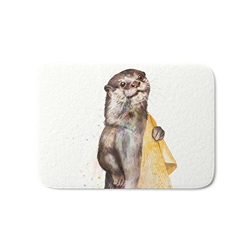 Society6 Otter Bath Mat 21'' x 34'' by Society6