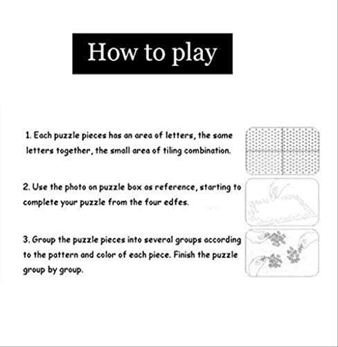 Legpuzzels For Adults 1000 stukjes, kaart van de wereld, Houten Assemblage Decoratie, Brain Challenge puzzel for kinderen, Perfect Gift ZPGIuCXY