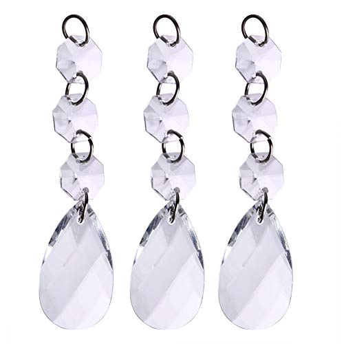 STORE-HOMER - 60pcs Acrylic Crystal bead luxury curtain Pendant Wedding decoration Home Partition by STORE★HOMER