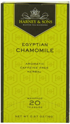 Harney & Sons Herbal Tea, Egyptian Chamomile, 20 Tea Bags