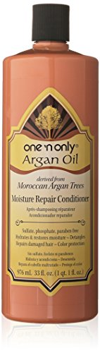 one 'n only Argan Oil Moisture Repair Conditioner Derived from Moroccan Argan Trees, 33 Ounce (Argan Treatment Oil)