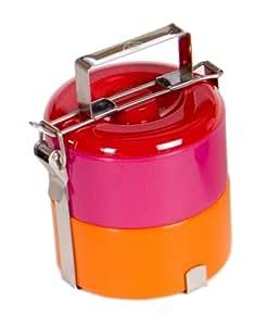 Vivo Kids Bento Box, Orange and Pink