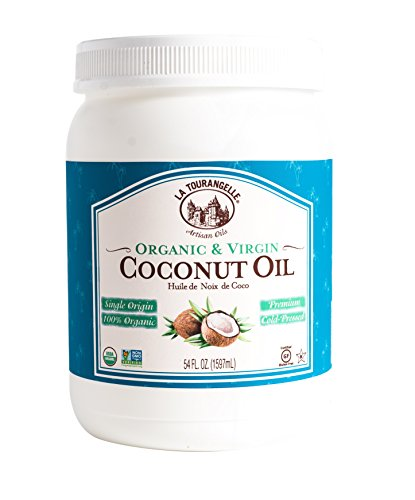 La Tourangelle Organic Virgin Unrefined Coconut Oil, 54 Fl. Oz. ()
