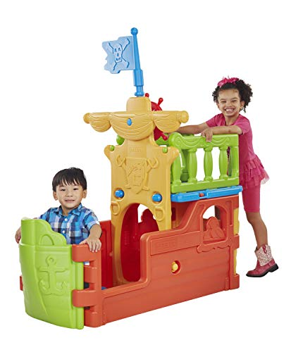 (ECR4Kids Indoor/Outdoor Buccaneer Pirate Play Boat for Kids at Home or Daycare)