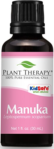 Plant Therapy Manuka Essential Oil 30 mL  100% Pure, Undilut