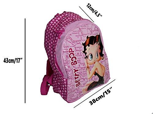 Betty Boop Schultasche, Marke, Official Licensed Rucksack, (RRP: EUR 25)