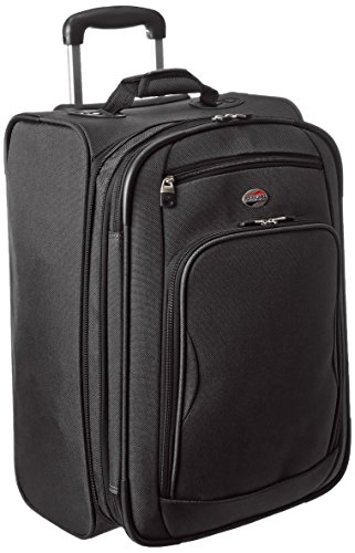 American Tourister Splash 2 Upright 21, Black, One (American Tourister Carry On)
