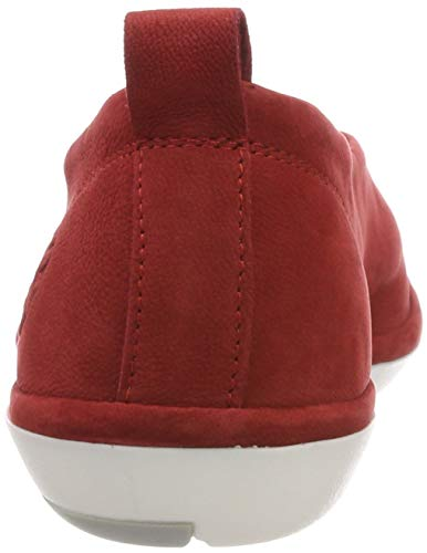 Red Chiusa lipstick Ballerine Crot960fly 005 Donna Punta Fly London Rosso 7wI6xqq8n