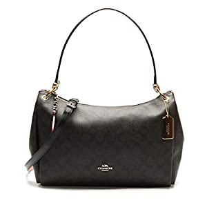 COACH Pebbled Leather Mia Shoulder Bag