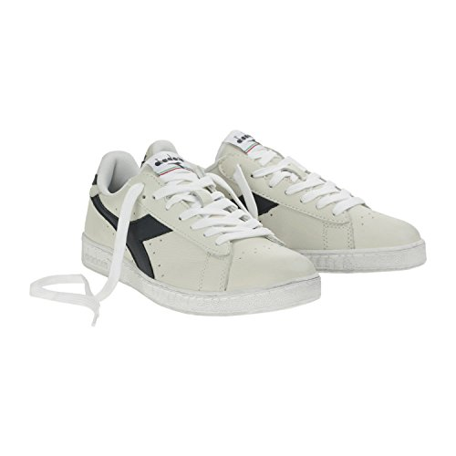 White Diadora C5262 Game Sneaker Waxed Low Caspian Adulto Unisex Sea L blue xBg0n8rx