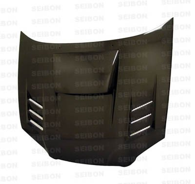 Seibon Carbon Hood (SEIBON 04-05 Impreza/WRX/STi Carbon Fiber Hood CWII GD)
