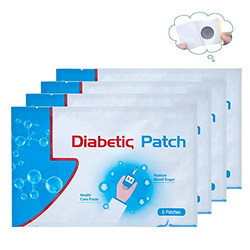 - Baiwka 6Pcs Diabetes Plasters,Natural Herbal Diabetes Patch, Keep Blood Sugar Balance High Blood Sugar Diabetes Pads,Relieve Limb Pain,6 Pcs/Bag