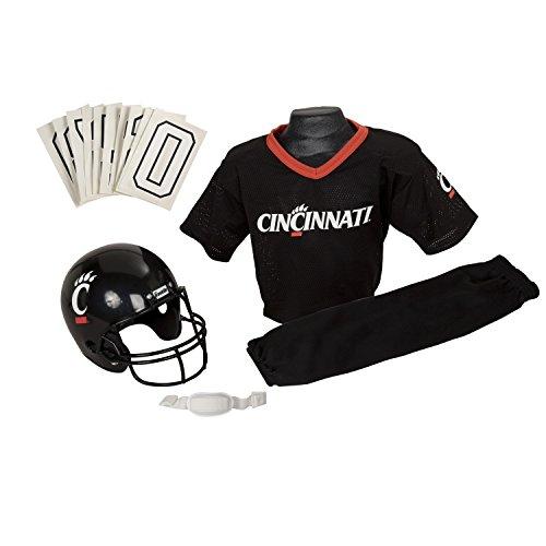 Franklin Sports NCAA Cincinnati Bearcats Youth Deluxe Team Uniform Set, Multi, Small (Cincinnati Bearcats Basketball)