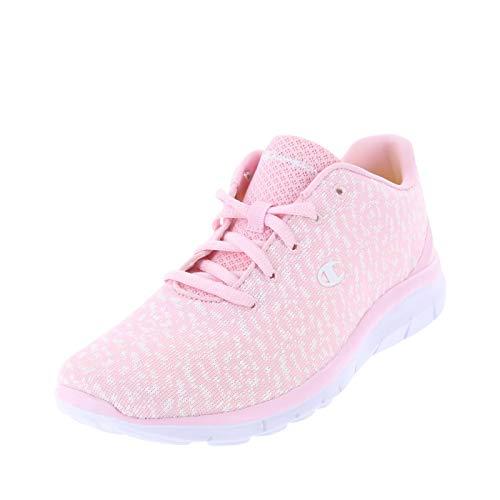 Champion Pink White Knit Women's Gusto Performance Cross Trainer 5.5 Regular