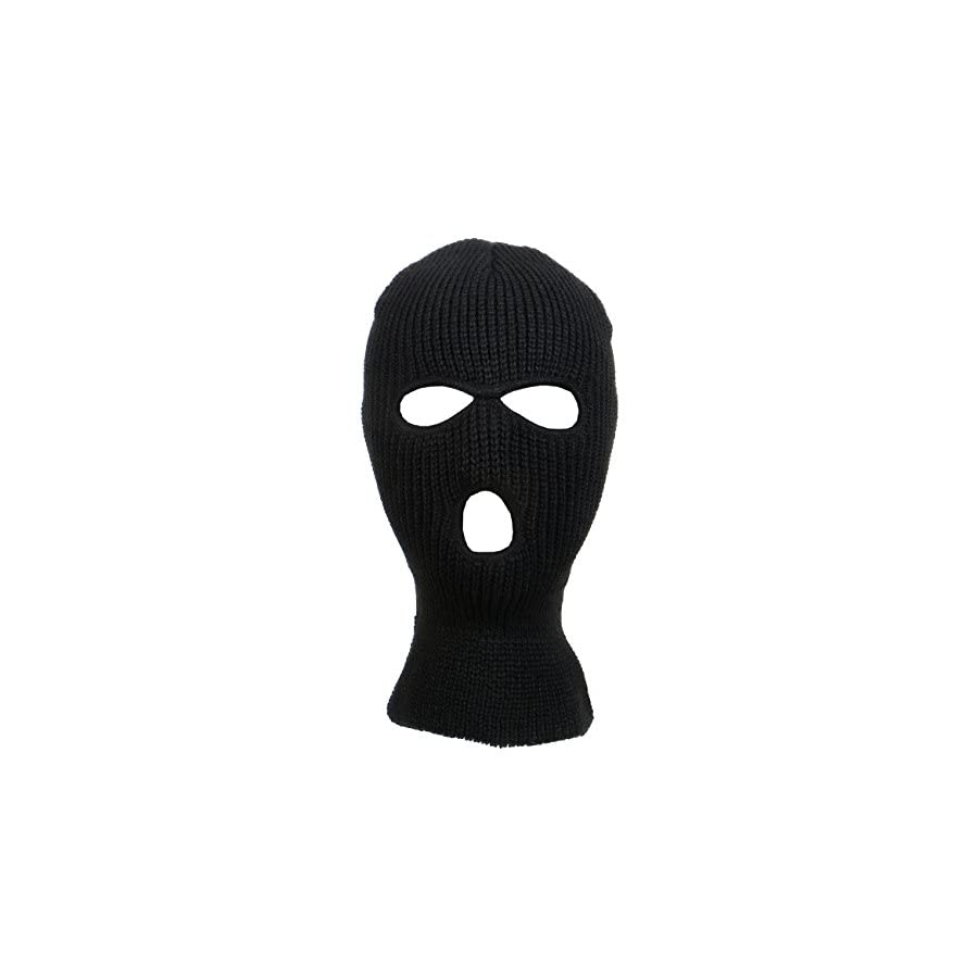Knitted 3 Hole Full Face Cover Ski Mask
