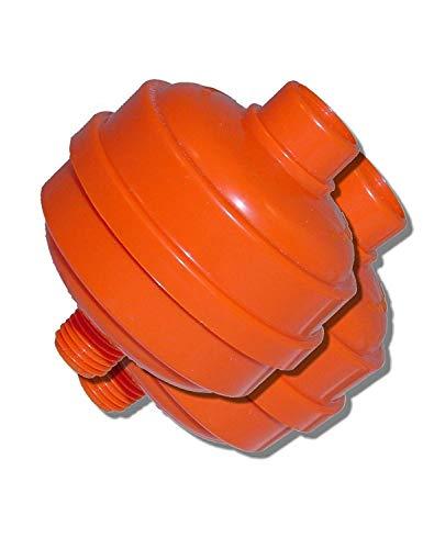 Motor Guard D-12-2 Disposable Spray Gun Filter, 2-Pack